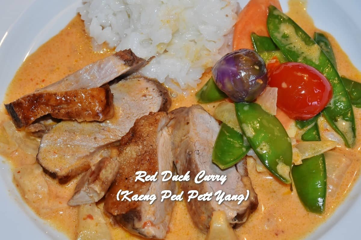TRH Red Duck Curry