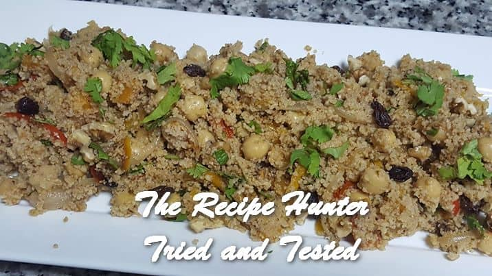 Vashnee's Whole Wheat Couscous with Roasted Veggies