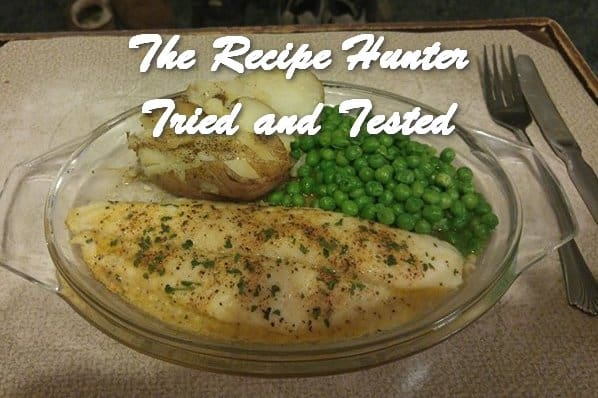 TRH Wally's Baked SWAII with White Wine Lemon Garlic Sauce