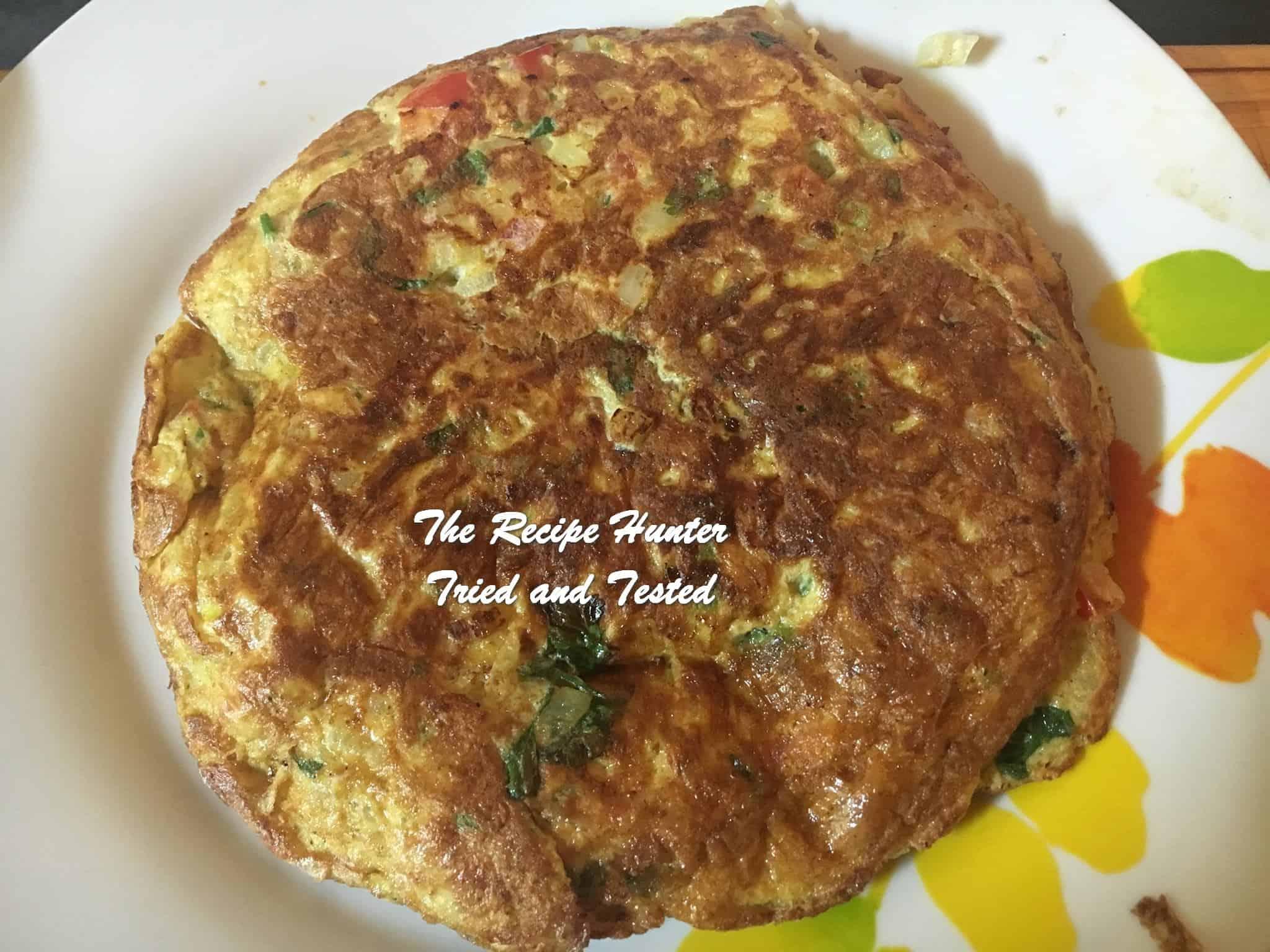 TRH Bobby's Masala Omelette