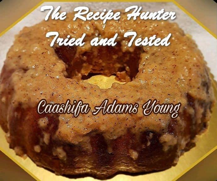 Caashifa's Gluten and Sugar Free Cantaloupe Cake