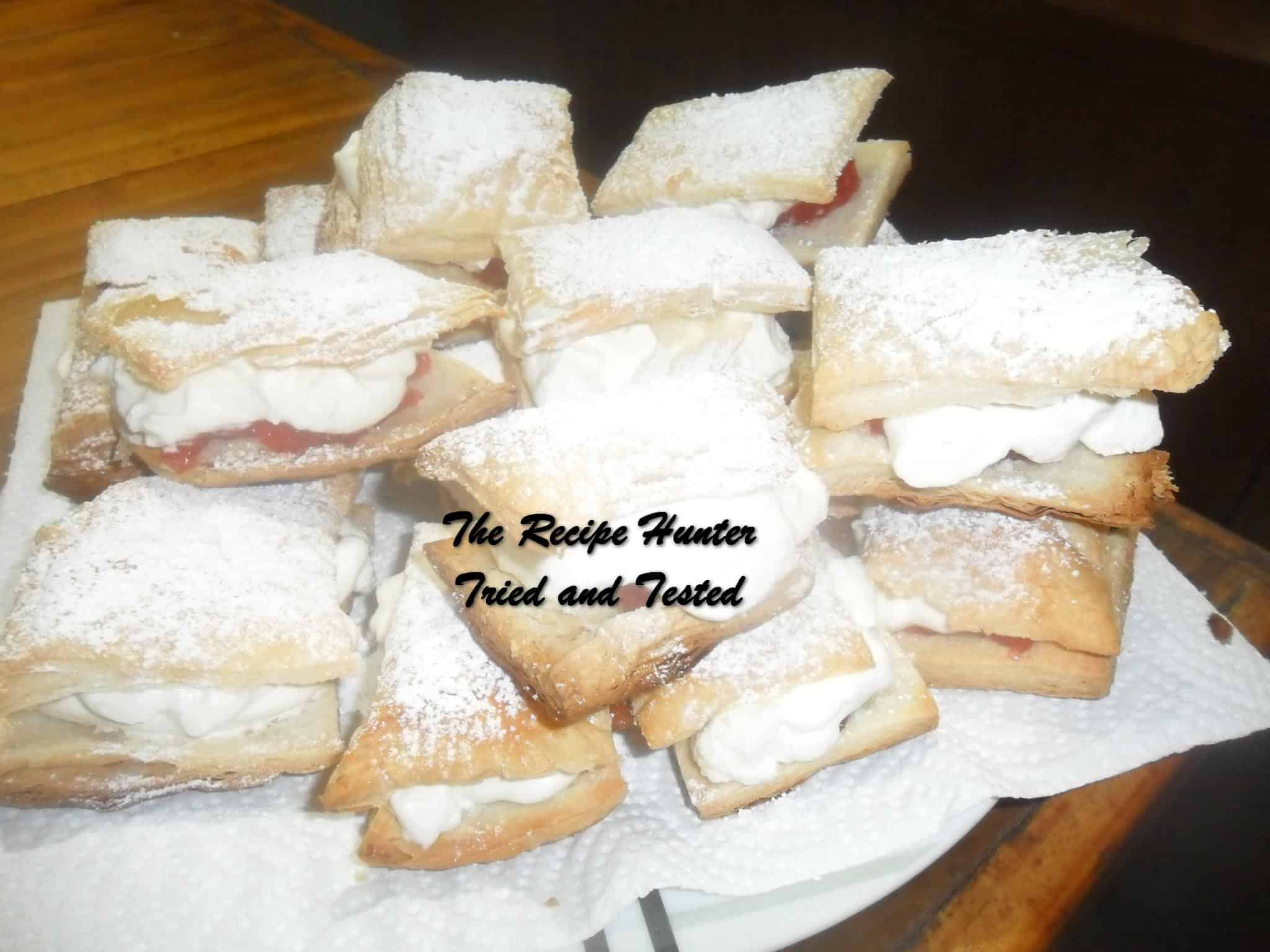 Carol's Fresh Cream Slices