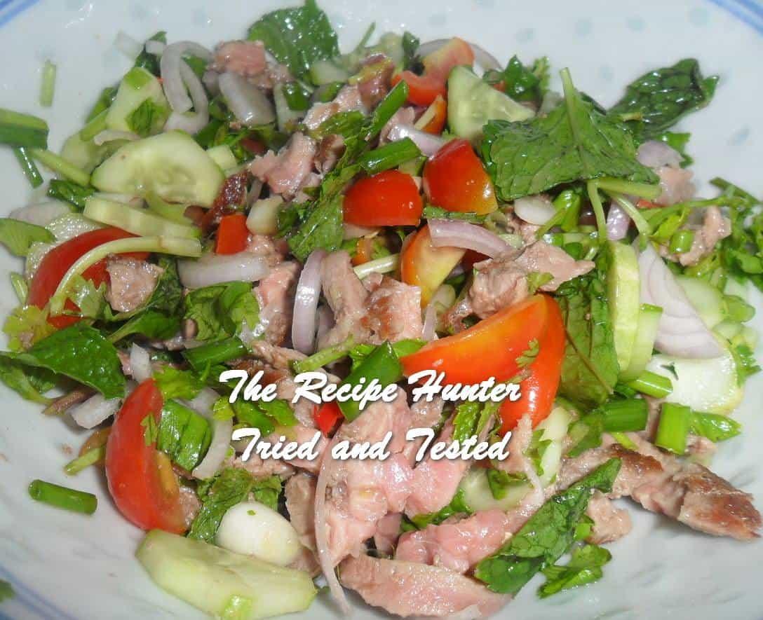 Carol's Thai Beef Salad (Nam Doc Nua)
