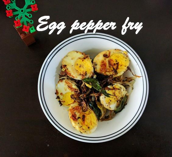 TRH Egg pepper fry