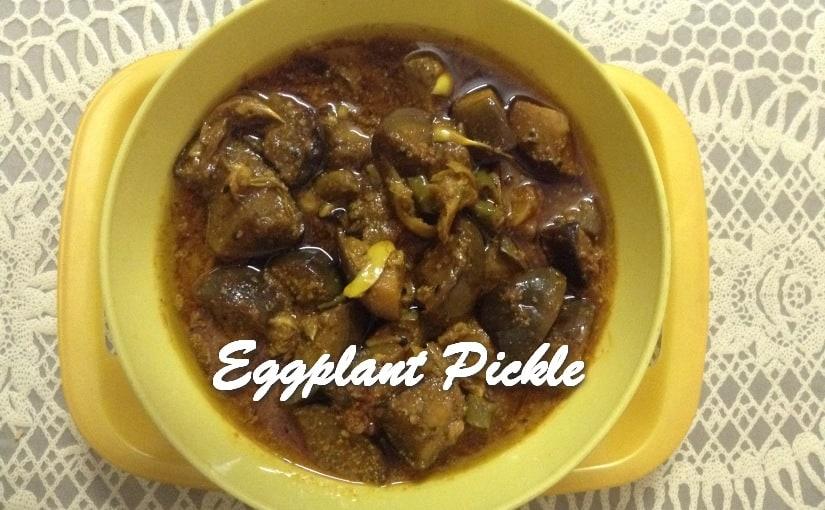 TRH Eggplant Pickle