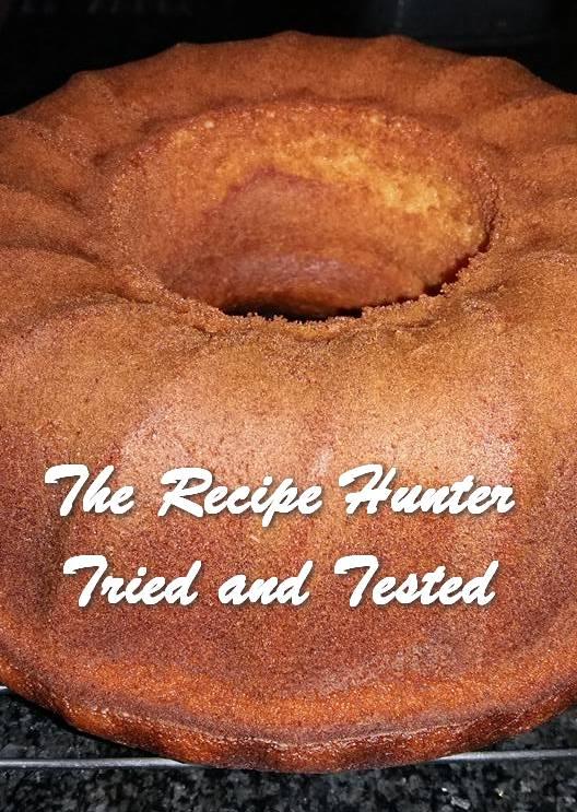 Feriel's Orange Ring Cake