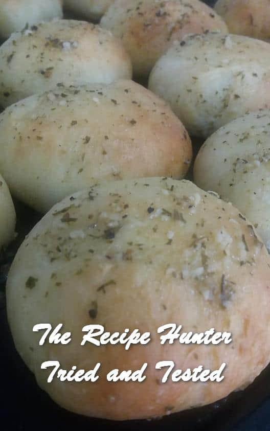 TRH Feriel's Quick Garlic Dinner Rolls