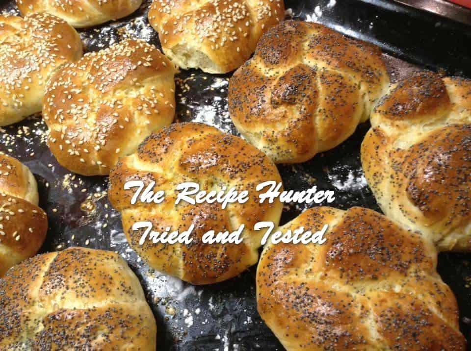 Gail's Homemade Kaiser bread rolls.
