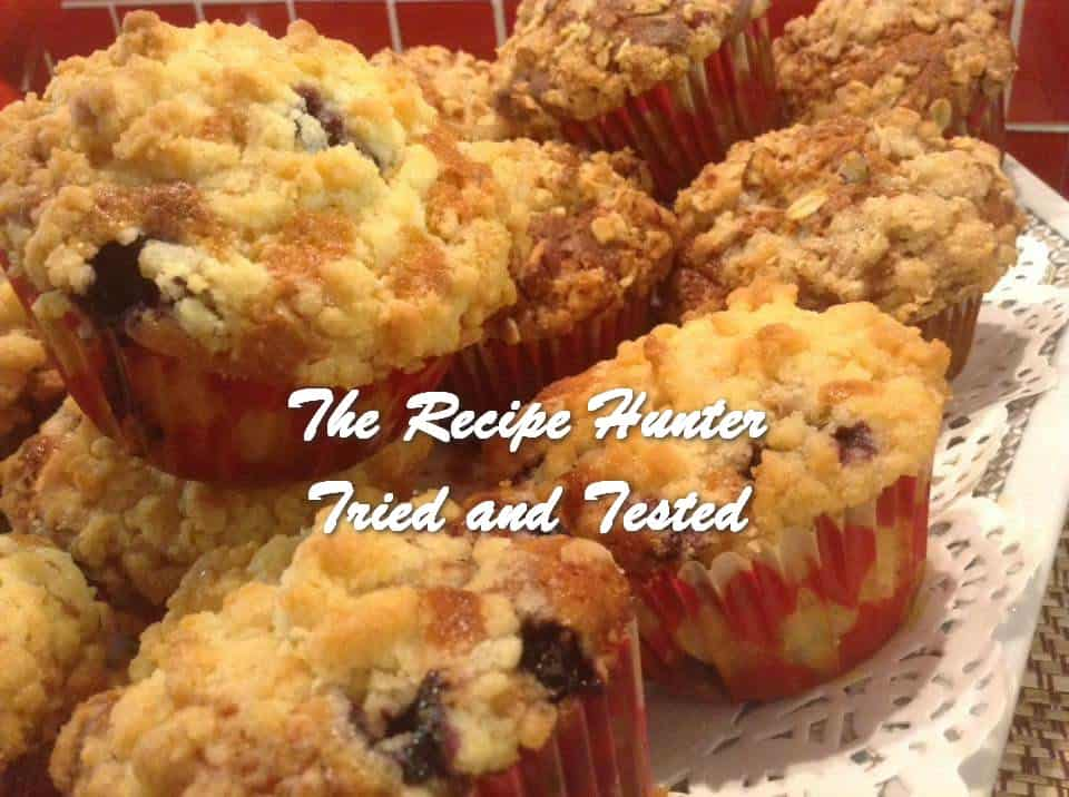 Gail's Blueberry and also Banana Muffins