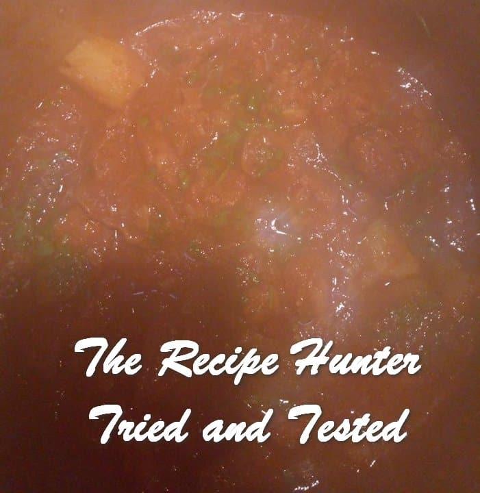Joelene's Tomato Stew – Bredie