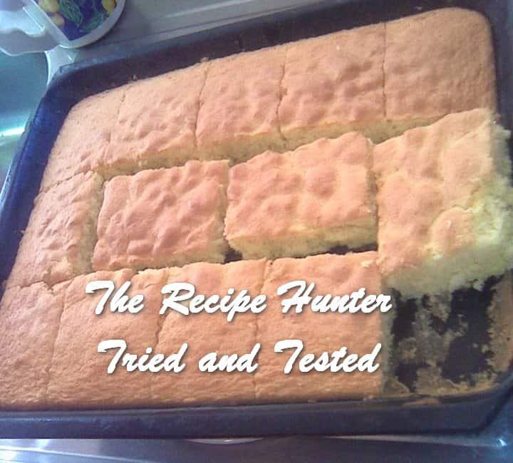 TRH MakaThando's Fluffy Sponge Cake