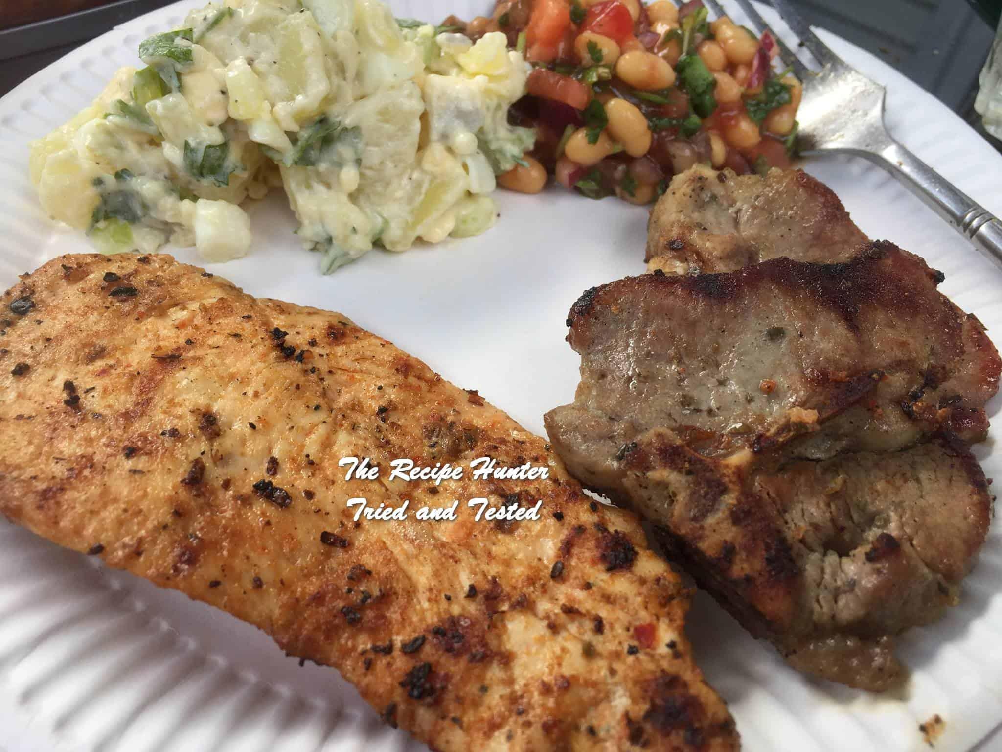 TRH Preshana' s BBQ Lamb chops