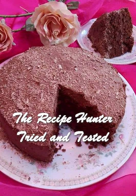 Rashida's Simple Chocolate Oil Cake