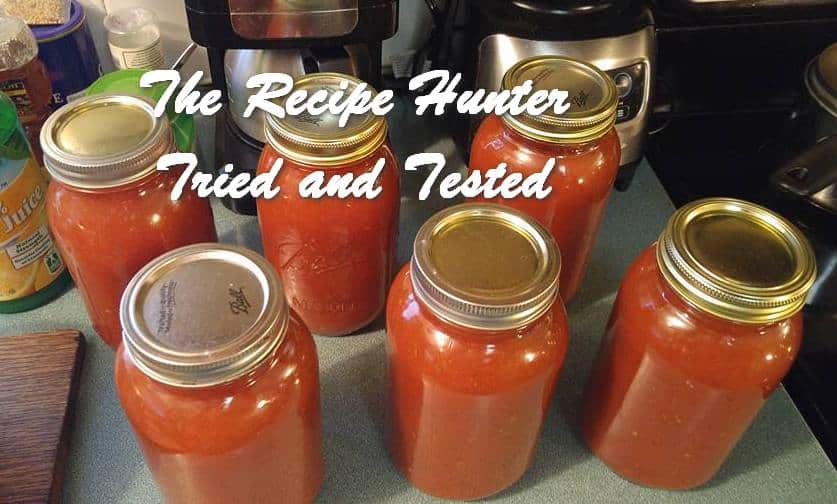 Wally's Homemade Tomato Sauce