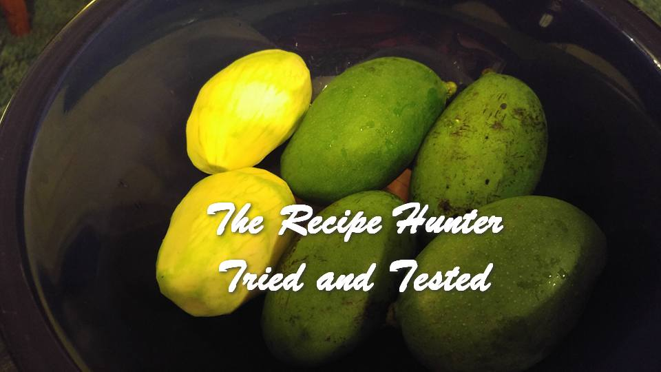 TRH Wally's Pickled Green Mangoes