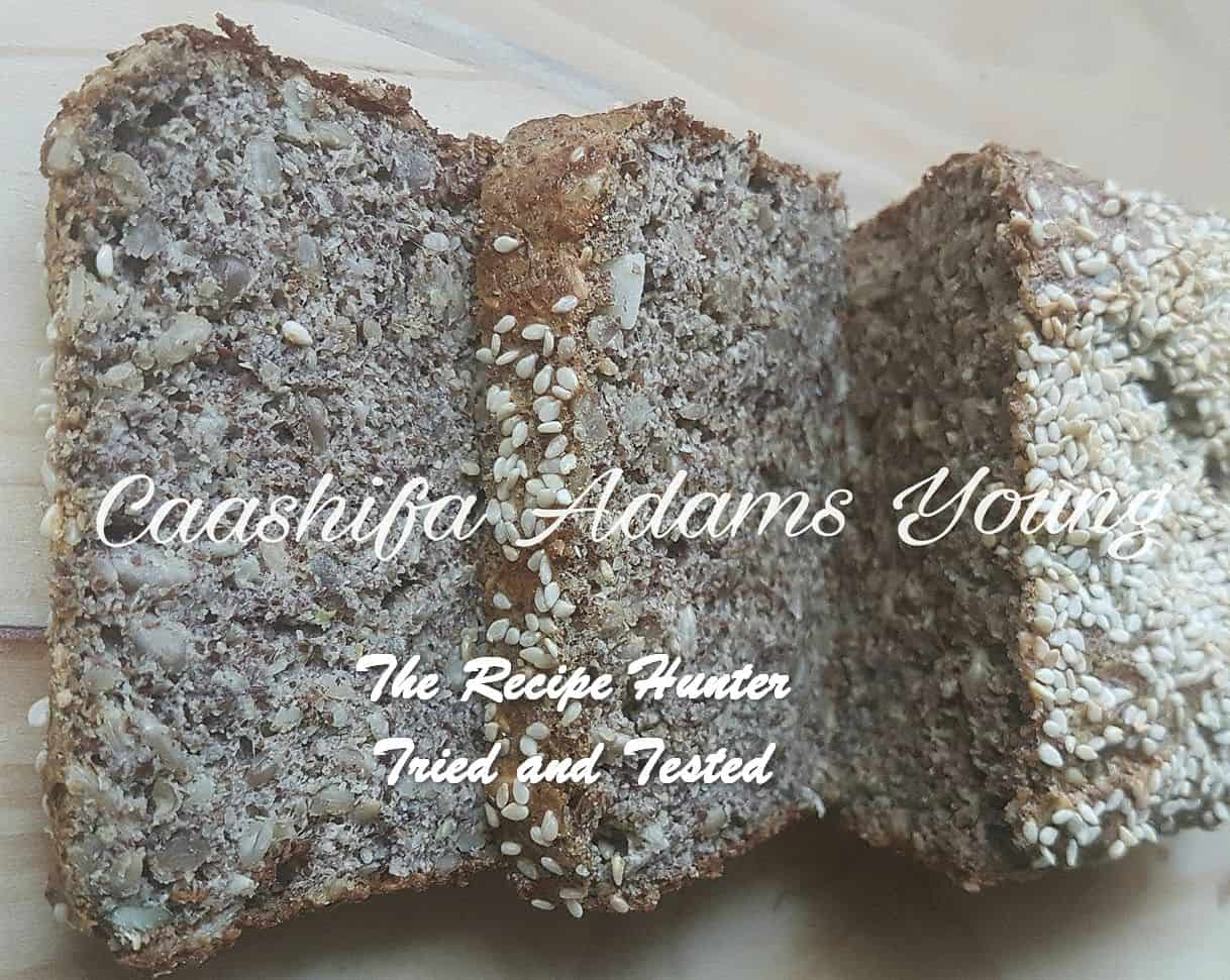 Caashifa's Low Carb Nutty Seed Loaf