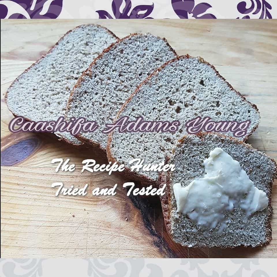 Caashifa's Low Carb Sunflower Yeast Bread