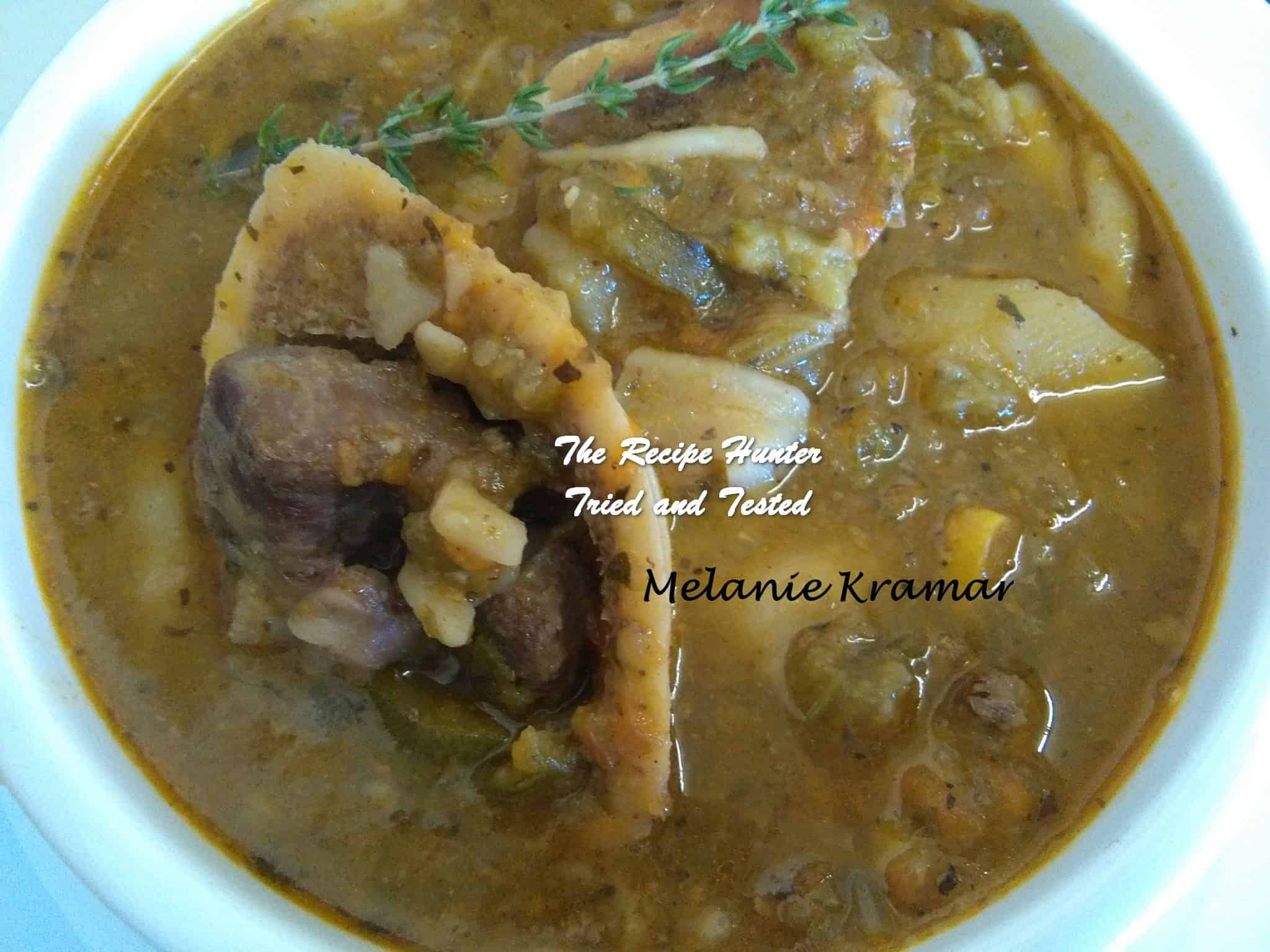 Melanie's Beef and Vegetable Soup