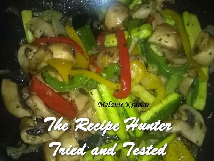Melanie's Chinese Italian Stir Fry
