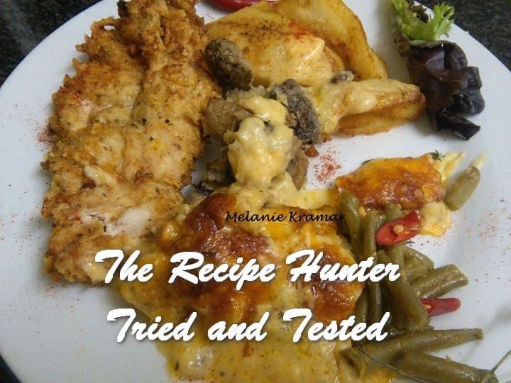 Melanie's Deep Fried Parmesan Chicken Breast