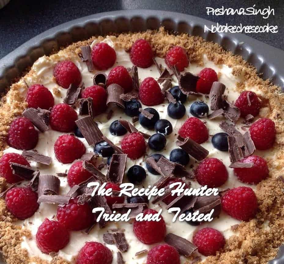 Preshana_s Classic Refrigerator Cheesecake