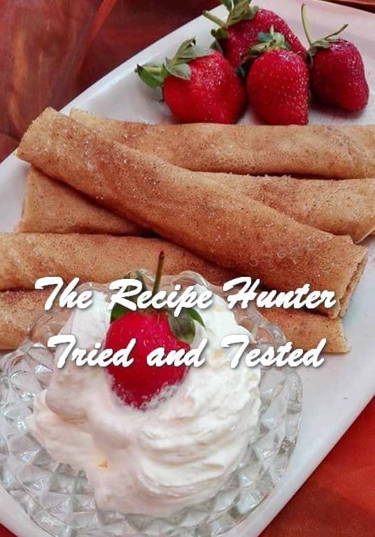 Rashida's Pancakes Crepes