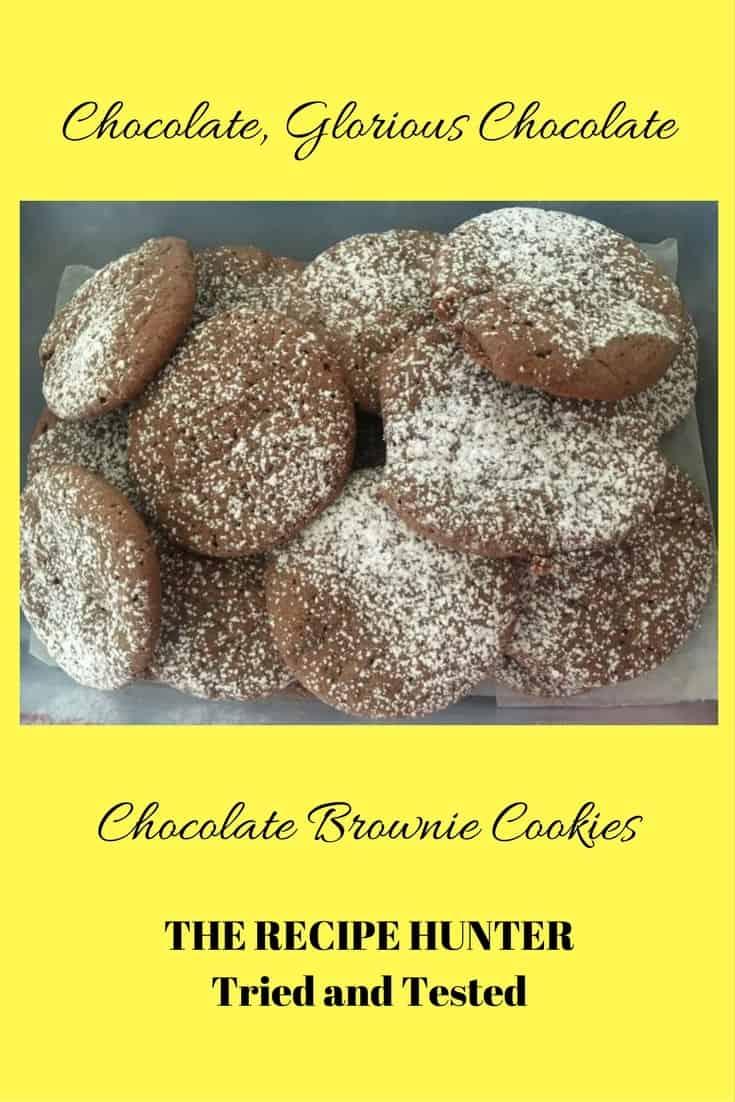 Bobby's Chocolate Brownie Cookies