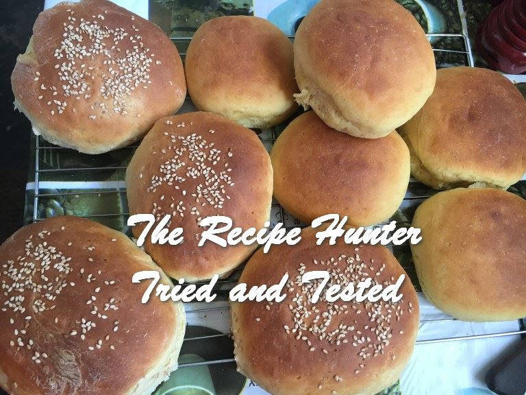 Bobby's Homemade Burger Rolls