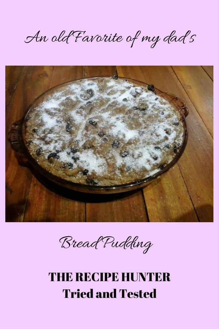 Carol's Bread Pudding