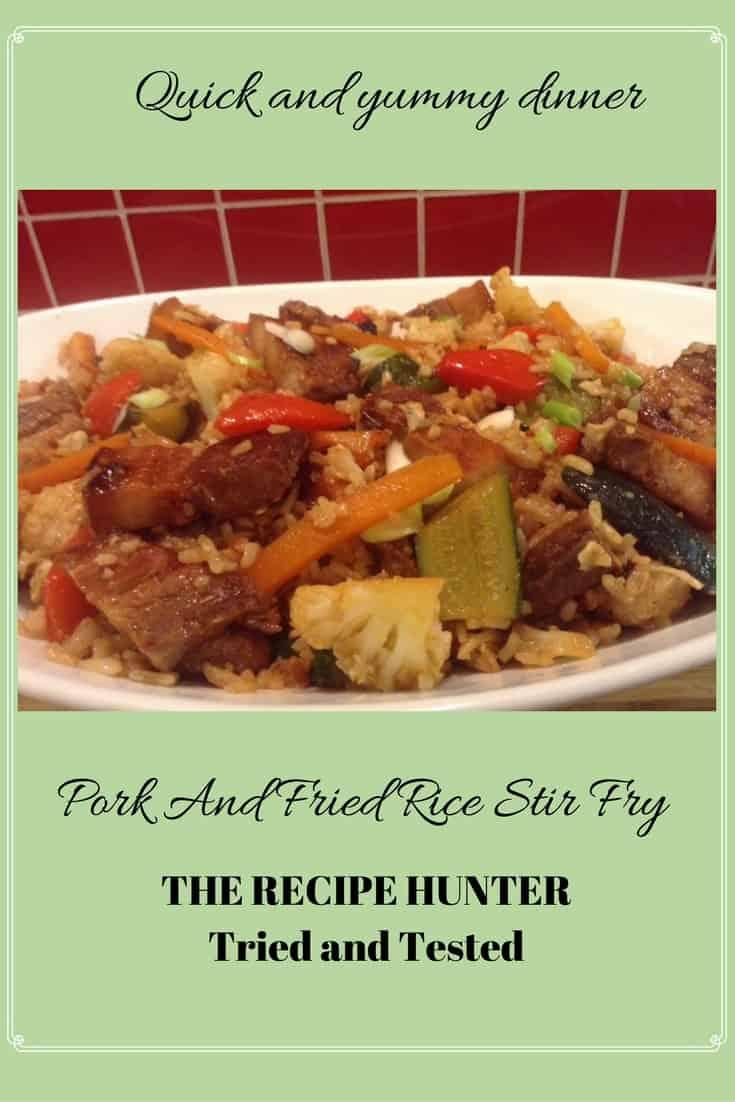 Gail's Pork And Fried Rice Stir Fry