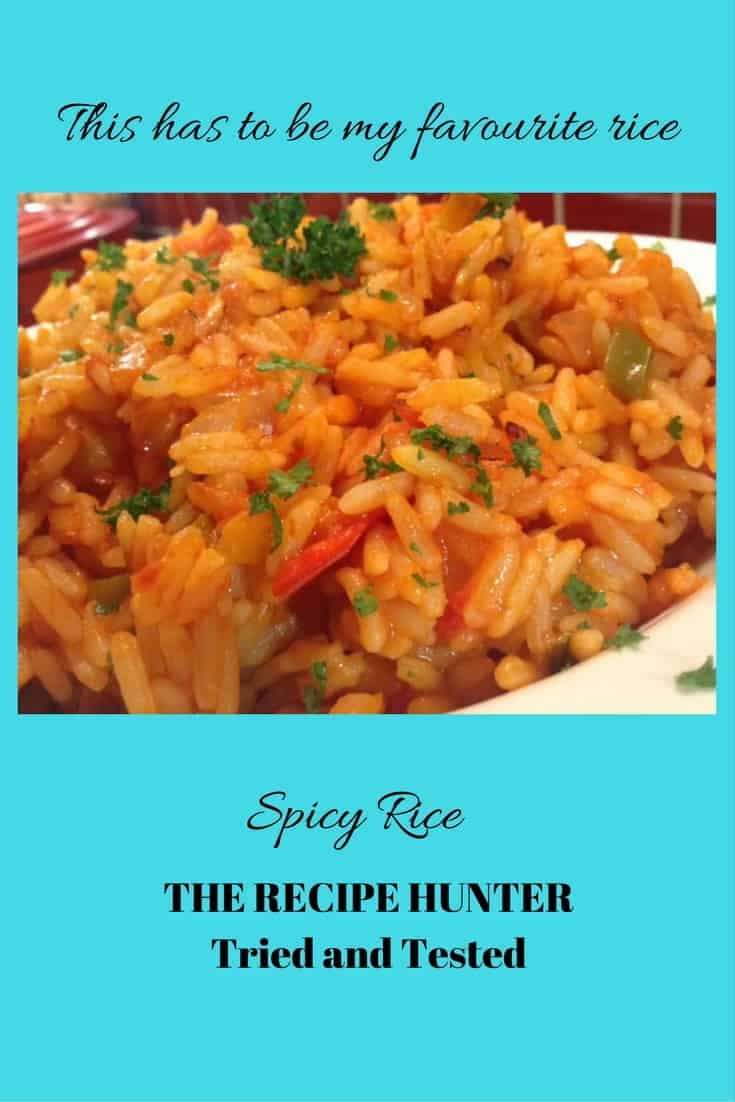 Gail's Spicy Rice