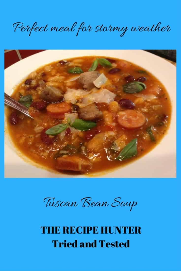 Gail's Tuscan Bean Soup