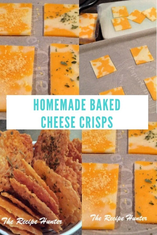 Es's Homemade Baked Cheese Crisps