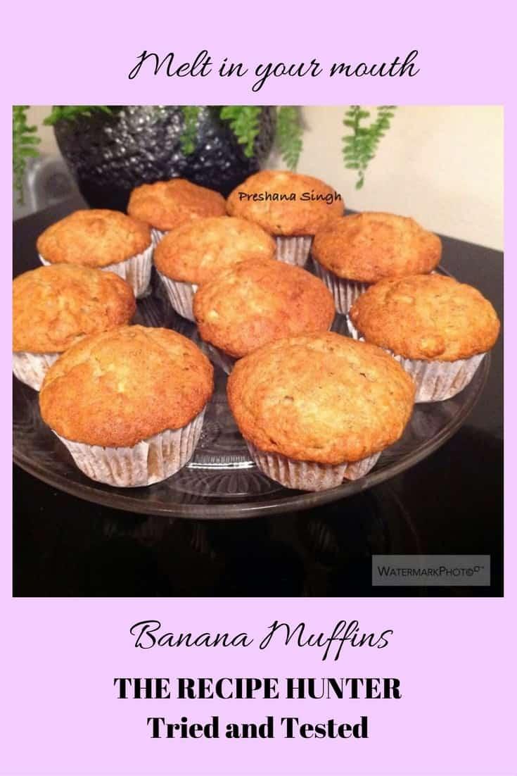 Preshana's Banana Muffin