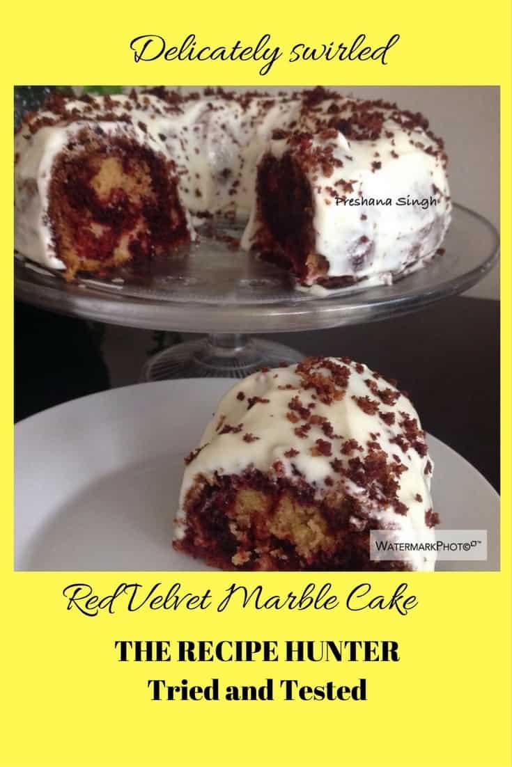 Preshana's Red Velvet Marble Cake
