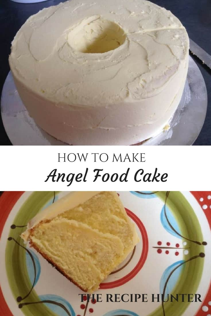 Bobby's Angel Food Cake