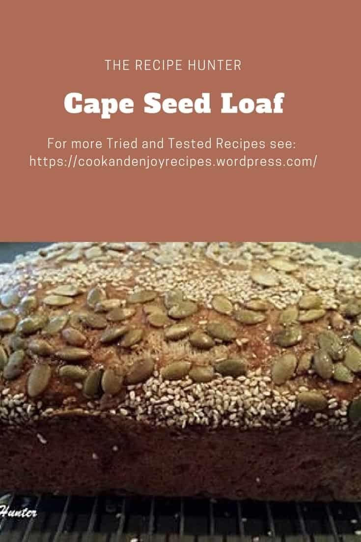 Es's Cape Seed Loaf