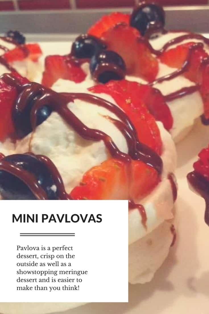 Mini Pavlovas