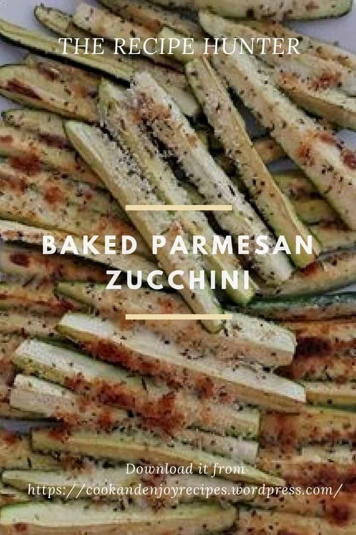 Nata's Baked Parmesan Zucchini
