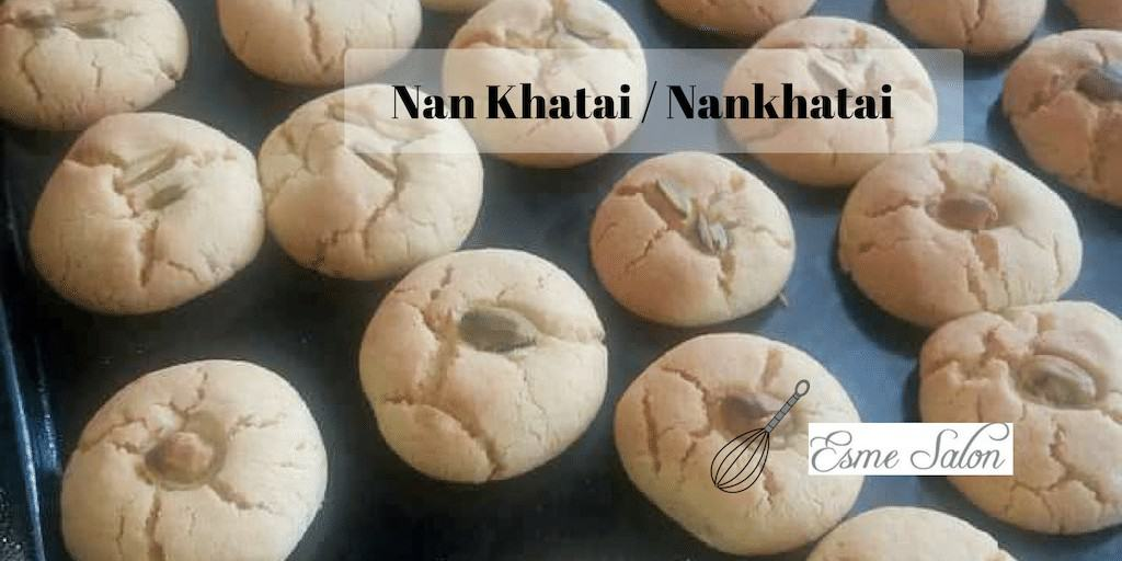 Nankhatai Shortbread Biscuits