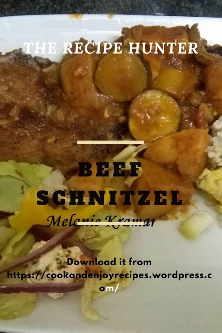 Melanie's Beef Schnitzel