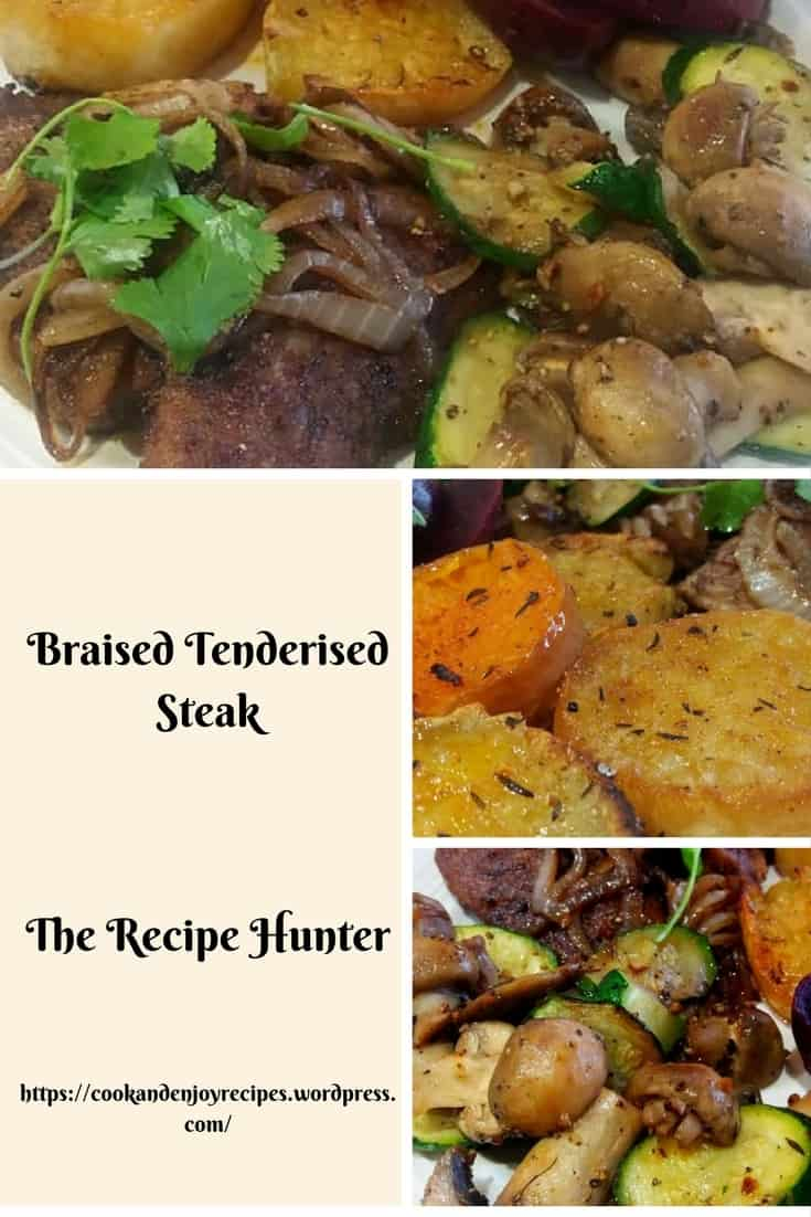 Feriel's Braised Tenderised Steak