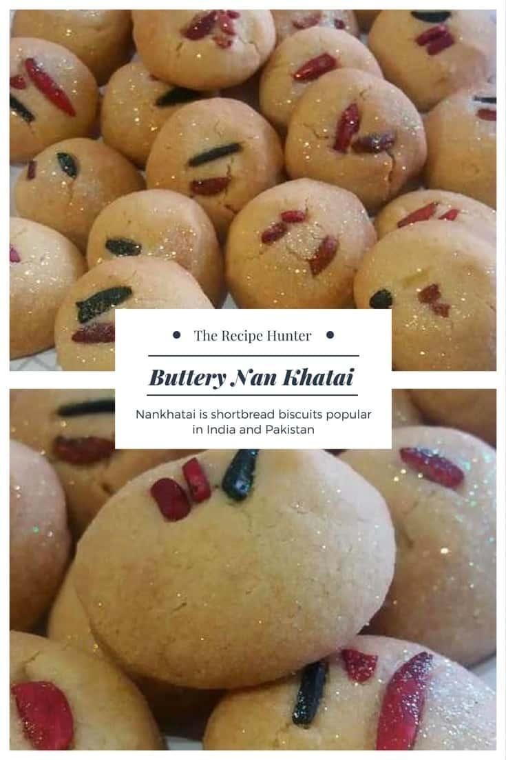 Buttery Nan Khatai