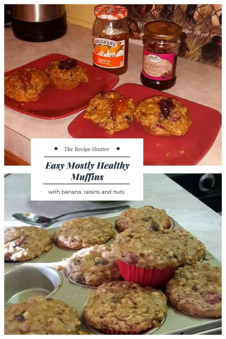 Easy Mostly Healthy Muffins