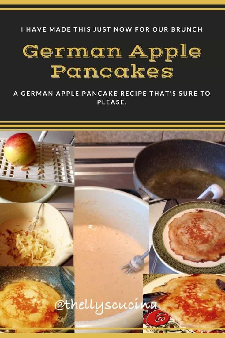 Thelma's German Apple Pancakes