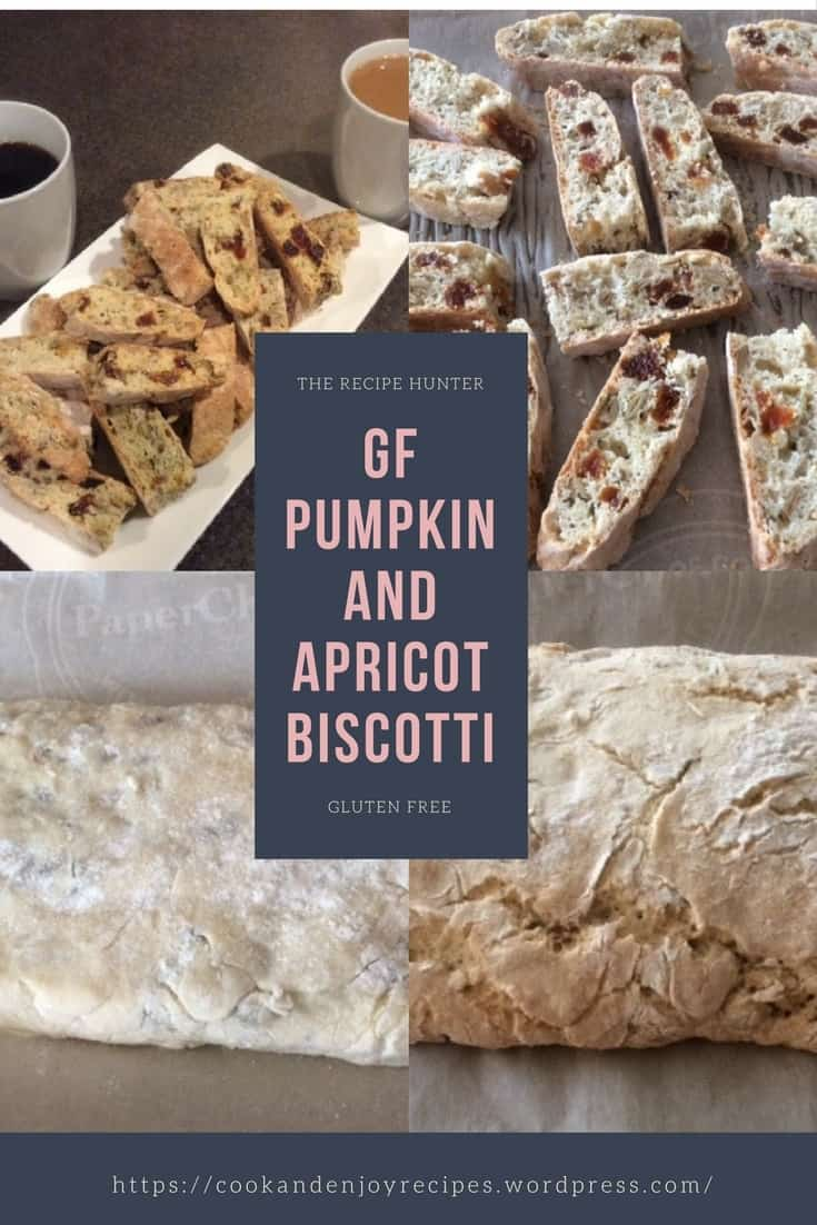 GF Pumpkin and Apricot Biscotti