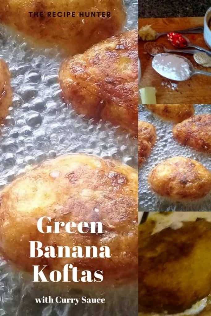 Green Banana Koftas with Curry Sauce