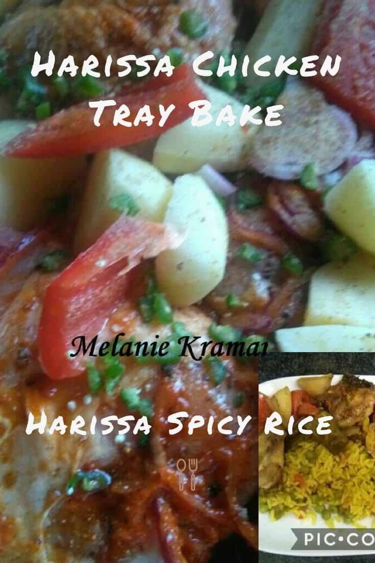Harissa Chicken Tray Bake
