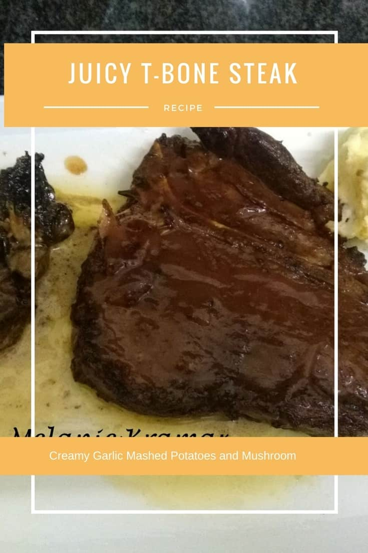 Melanie's Juicy T-Bone Steak