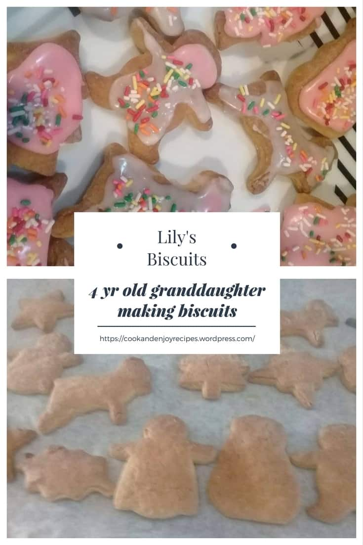 Carol and Lily's biscuits